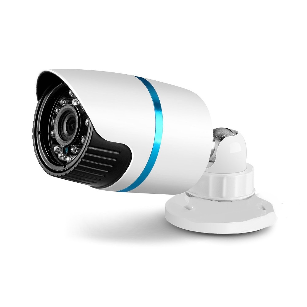Metal1.0MP HD 720P IP Camera Outdoor IR Bullet Waterproof 1280*720 CCTV Camera IP Megapixel 3.6MM Lens IR Cut Online Phone View j47b as cameras do ip de hd apoiam hd 720p 1280 720 deteccao de movimento mascara da privacidade camera bala