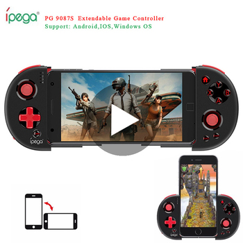 Console Game Pad Bluetooth Gamepad Controller Pubg Mobile Trigger Joystick For iPhone Android Cell Phone PC Smart TV Box Control trigger bluetooth joystick for phone cell pubg mobile controller gamepad game pad android iphone control free fire pc joistick