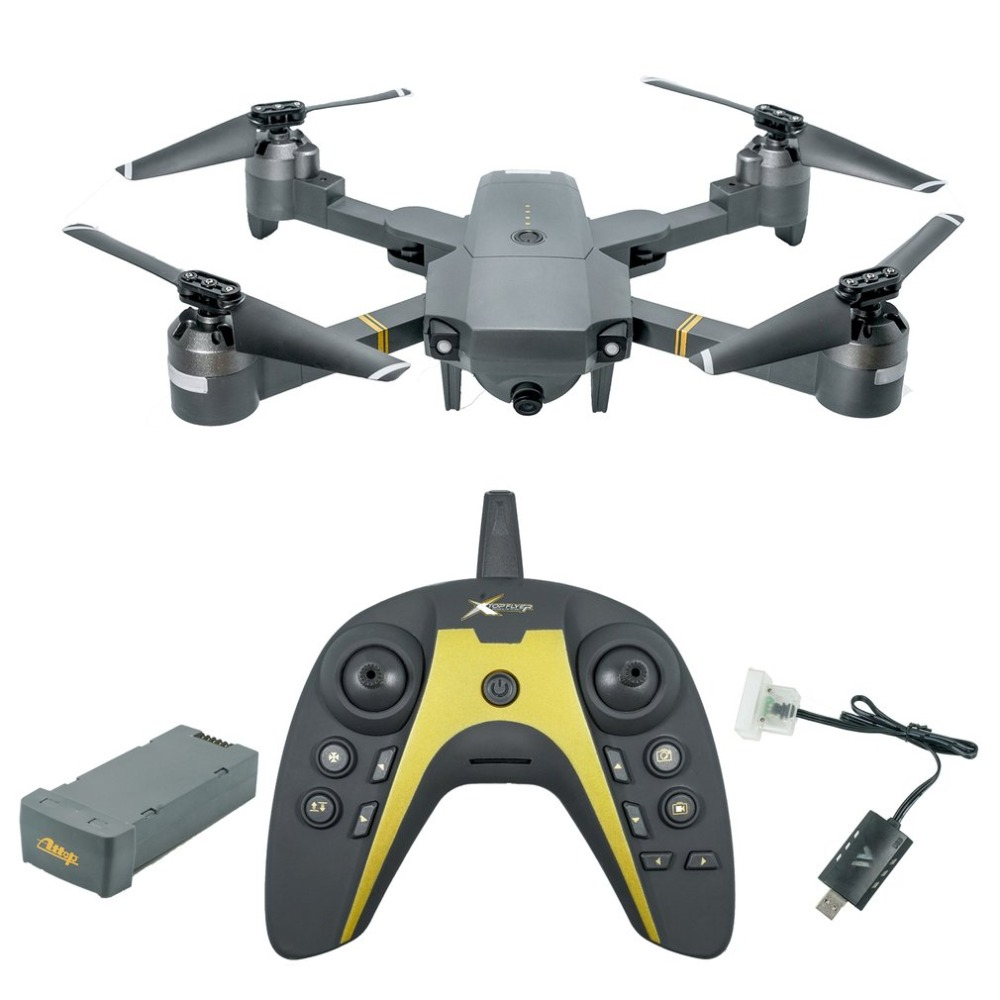 XT-1 WIFI 2.4Ghz FPV 720P HD Camera Folding RC Quadcopter With Gravity Induction Fixed Height VR Mode Real-time TransmissionXT-1 WIFI 2.4Ghz FPV 720P HD Camera Folding RC Quadcopter With Gravity Induction Fixed Height VR Mode Real-time Transmission