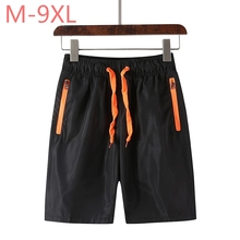 Plus size M~7XL 8XL 9XL new summer men shorts homme beach slim fit bermuda masculina joggers outwear casual Trousers Man
