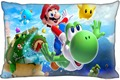 F35 Top Selling Super Mario Bros Custom Zippered Rectangle Pillowcases Pillow Cover Cases Size 35x45cm (One Side)