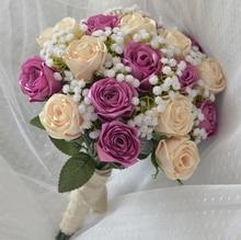 buque Bouquet Purple Wedding