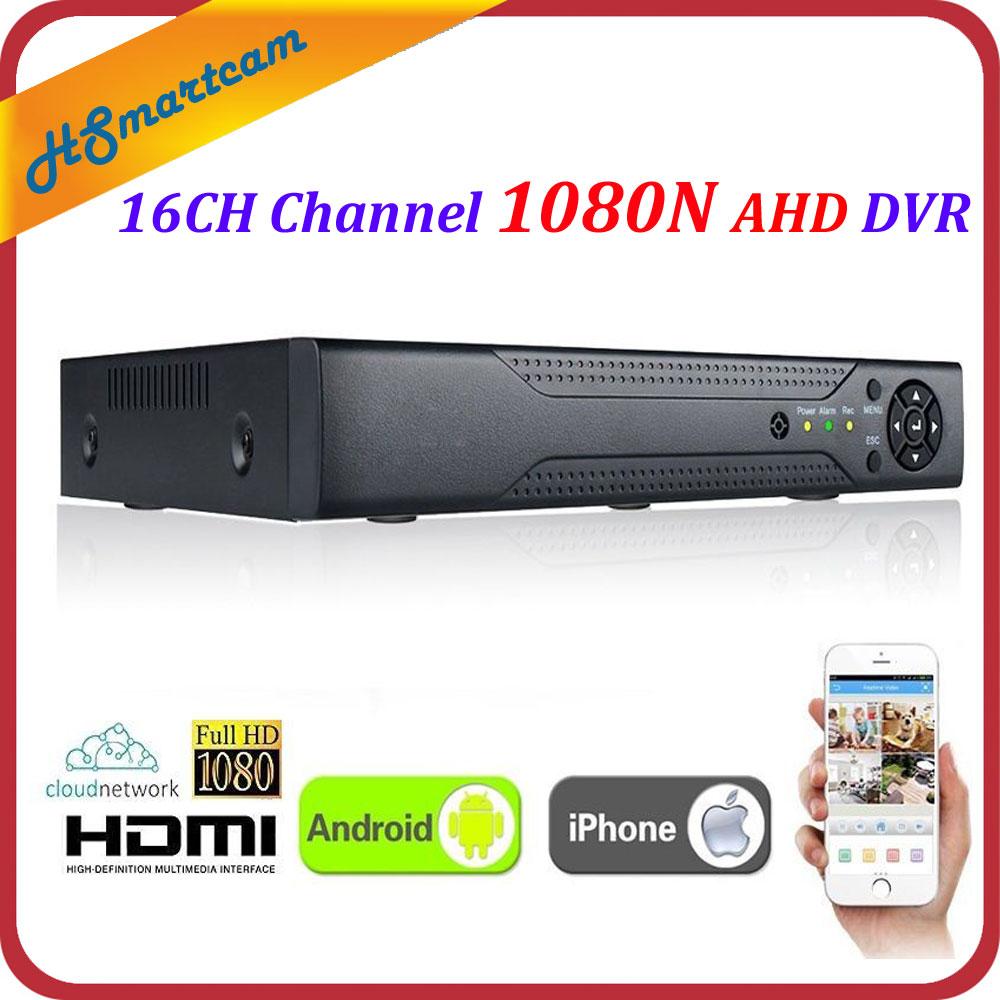 XVR 16CH Canal CCTV Vidéo Enregistreur 1080 P Hybrid NVR AHD TVI CVI Hi3521A 8CH DVR 16CH 1080N 5-en-1 XMeye P2P DVR FreeShipping