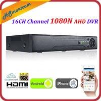 XVR 16CH Channel CCTV Video Recorder 1080P Hybrid NVR AHD TVI CVI Hi3521A 8CH DVR 16CH 1080N 5-in-1 XMeye P2P DVR FreeShipping