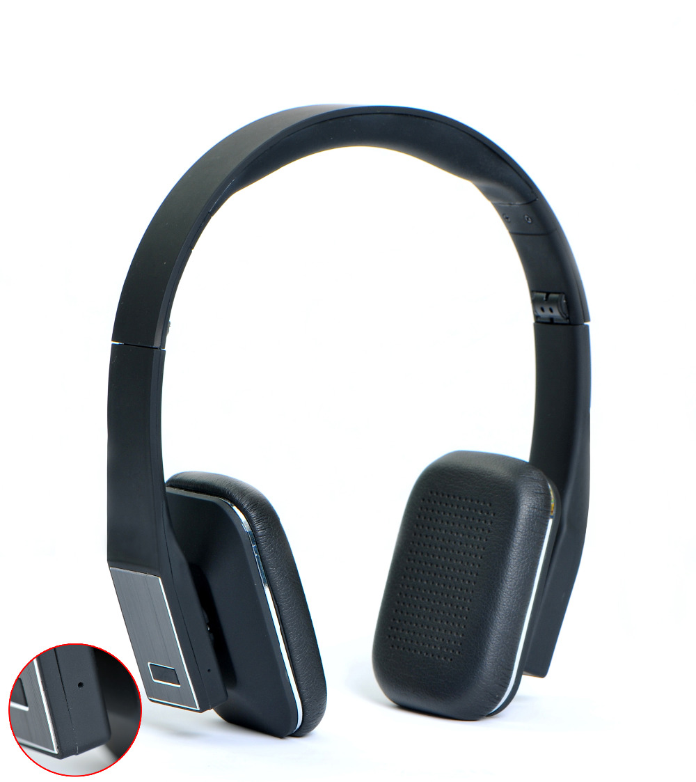 ФОТО bluetooth wireless stereo headphones audio headset earphone with mic mobile PC Universal wireless chat Music