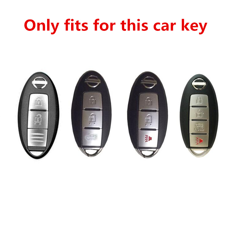 Image 2 - Artificial Crystal key case cover protect shell holder For Nissan Tidda Livida X Trail T31 T32 Qashqai March Juke Pathfinder-in Key Case for Car from Automobiles & Motorcycles
