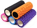 Hot sell 5 Colors Eco-friendly Yoga Foam roller for Yoga pilates training fitness rollers with trigger points Free Shipping