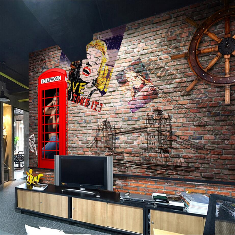 Customize Wall Papers Home Decor Rail 3d Wall Paper For Kids Room Thicken Environment Friendly TV Background Restaurant Study