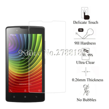 2.5D zero.26mm 9H Premium Tempered Glass For Lenovo A2010 Display Protector Toughened Protecting Movie Glass For Lenovo A2010