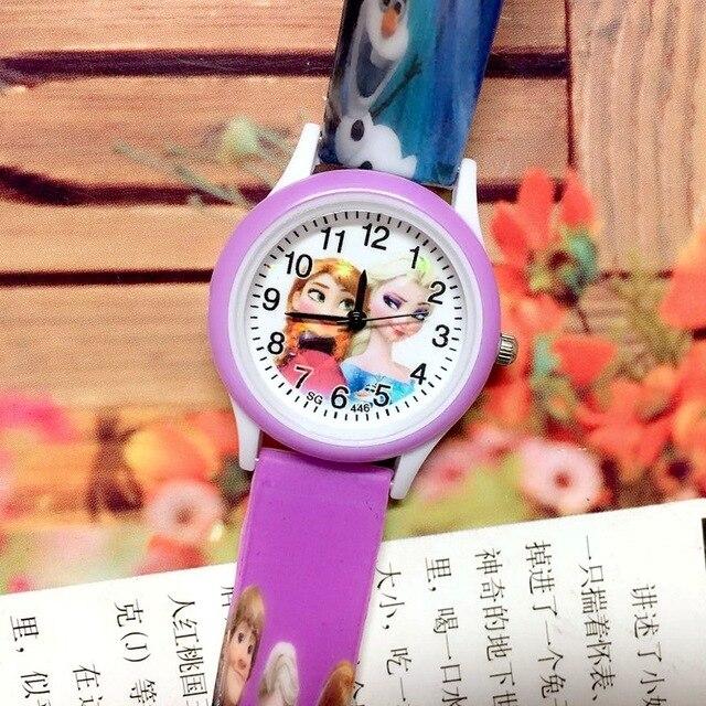 2019 new silicone strap children's watches girl kids children fashion cute carto