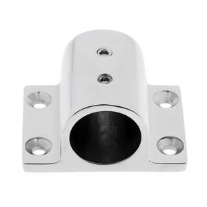 Image 1 - Accesorios de barandilla de acero inoxidable 316, accesorios de barandilla de 90 grados, soporte rectangular, soporte marino para tubería de 25mm