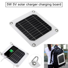 5V 5W Solar Charging Panel Battery Power Charger Board for Mobile Phone  MJJ88