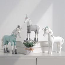White Decorative Unicorn Figurine
