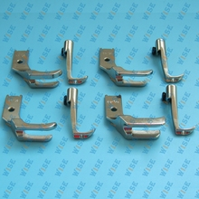 4 Sets of Welt Piping Foot For JUKI DNU 1541 industrial sewing Walking foot