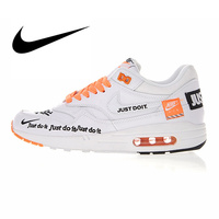 Nike Air Max 1 Just Do It Men's Running Shoes Sport Outdoor Sneakers Top Quality Athletic Designer Footwear 2018 New 917691 100