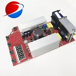 600W ultrasonic power generator PCB+display board,Portable Ultrasonic Transducer Driver / Display Board For Ultrasonic Cleaner