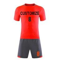 Football Jersey Men Soccer Jerseys Set Youth Survetement Kits Training Suit Football Quick Dry DIY Custom