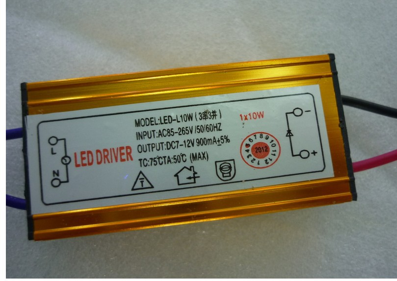 10w dc 7 12v 3 series 3 parallel 900ma led driver power supply