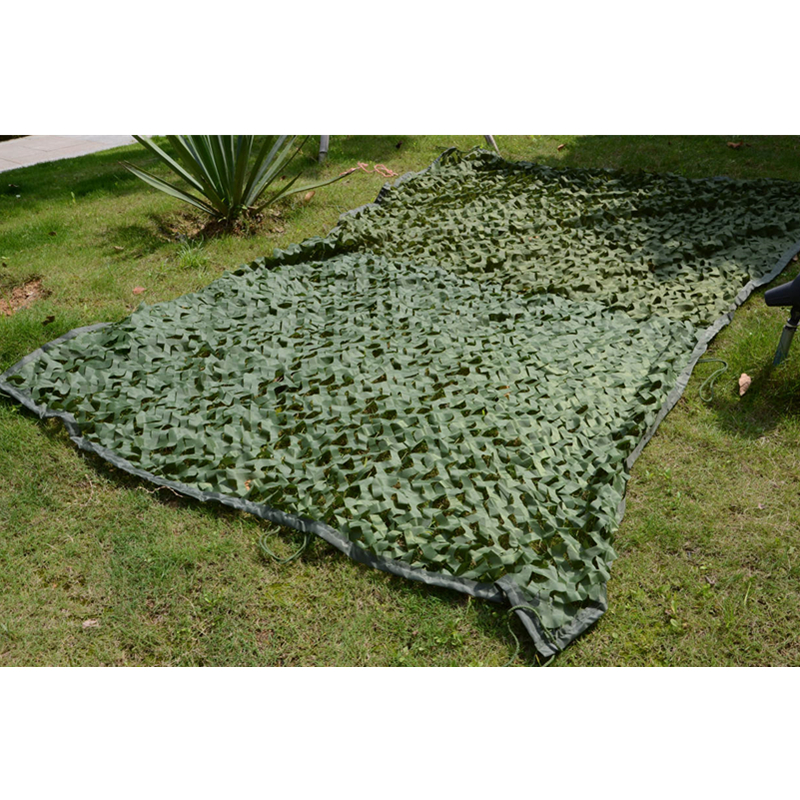 WELEAD 3.5x7m Reinforced Military Camouflage Net Green for Pergola Outdoor Awning Mesh Hide Shade Sun Shelter 3x7 3*7 4x7 4*7 - 5