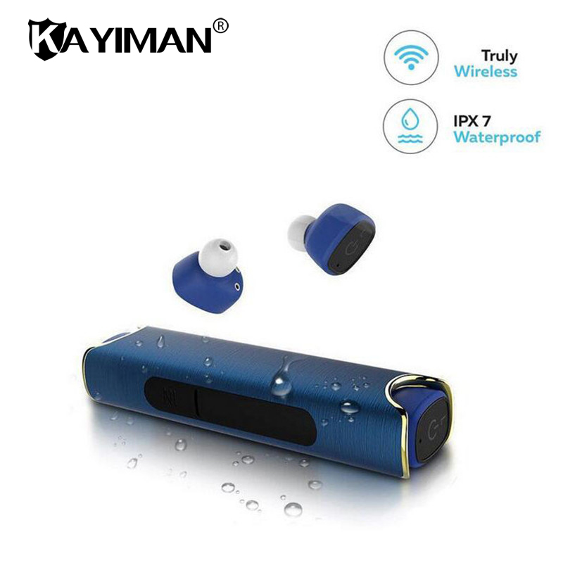 Bluetooth Wireless Earphone For Phone Waterproof With Power Bank Magnetic Stereo Headset For Phone Samsung Sony xiaomi