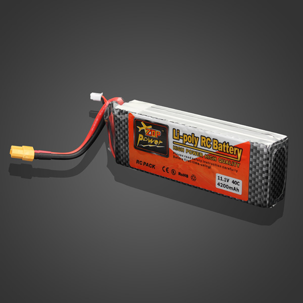 XT60 Plug ZOP Power 11.1V 4200mAh 40C Lipo Battery For RC Helicopter Parts Accessories Accs mos rc airplane lipo battery 3s 11 1v 5200mah 40c for quadrotor rc boat rc car