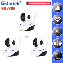 hot deal buy wifi ip camera wi-fi mini cctv wireless hd 720p security carama ip home surveillance p2p camera app control hd ip cam lintratek