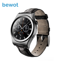 2016 New Arrival Smart Watch X01 1.3″ Round Display Heart Rate monitor Wristwatch Smartwatch Fitness Device for Android & Ios