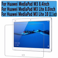 Clear Explosion Proof Tempered Glass For Huawei MediaPad M3 8 4 M3 Lite 8 Screen