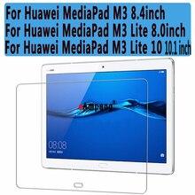 Transparente a prueba de Explosiones Vidrio Templado para el Huawei MediaPad 8.4 M3/M3 Lite 8 Protector de Pantalla para Huawei MediaPad M3 Lite 10
