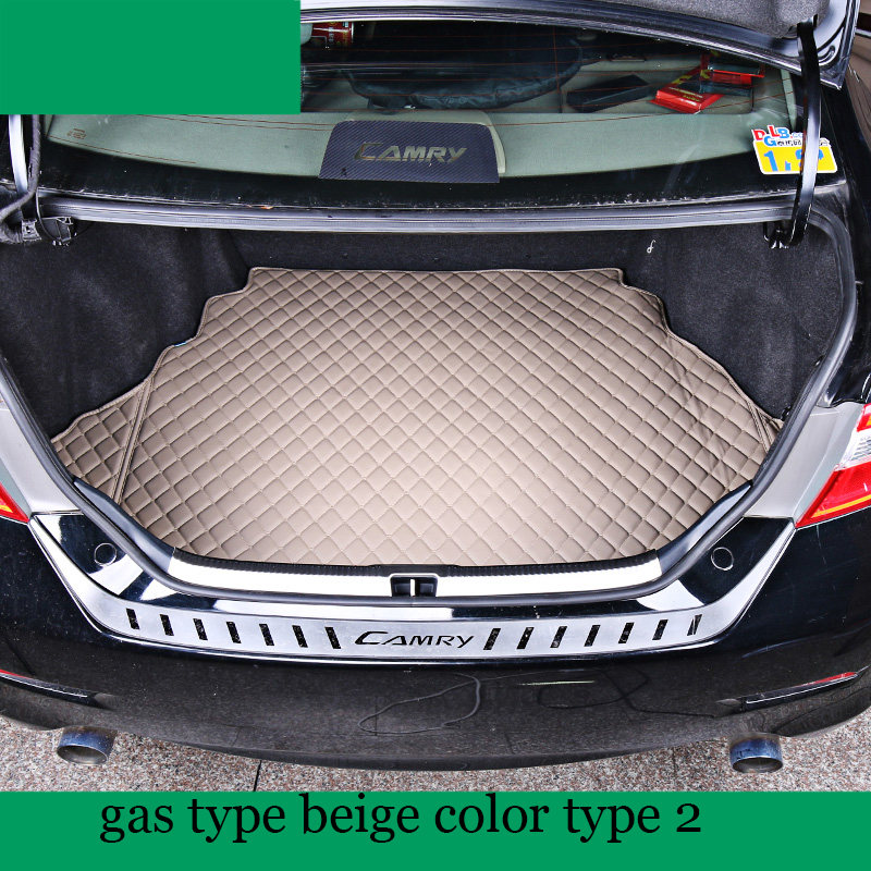 lsrtw2017 fiber leather car trunk mat for toyota camry 2012 2013 2014 2015 2016 2017 xv50 Daihatsu Altis