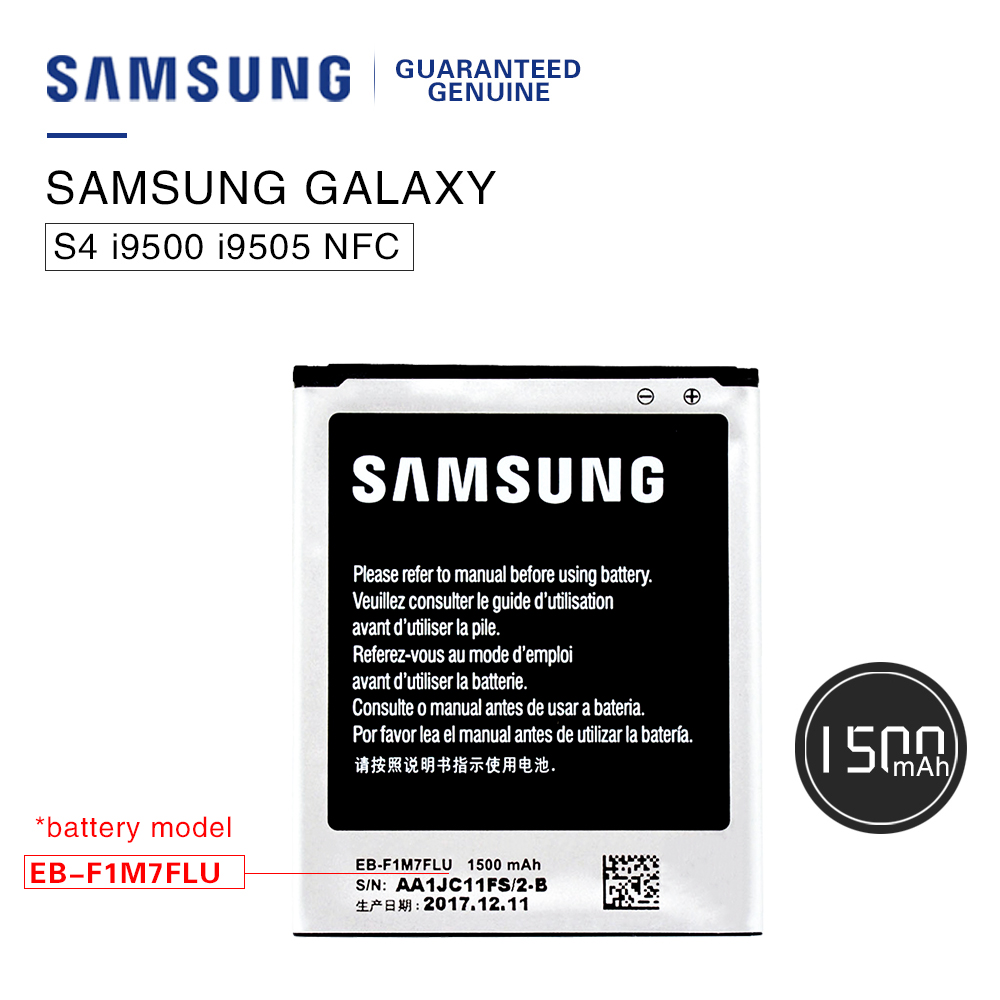 Akku Galaxy Us 11 69 100 Original Samsung Phone Battery Eb F1m7flu For Samsung Galaxy S3 Mini I8190 Replacement Batteria Akku 1500mah Fast Shipping In Mobile