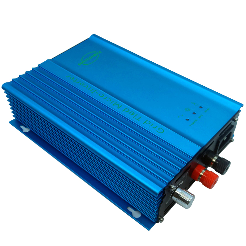 500w 12v Grid tied inverter for PV DC input 16v-28v For 12V Battery discharge Battery energy recovery Adjustable Power Output