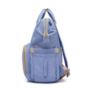 Image 3 - Sac à langer de grande capacité pour maman, sac à dos de voyage pour bébé, pour bébé, rangement pour biberons, T0567