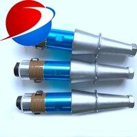 2000 W Alta Energia Ultra-sônica Transdutor De Soldagem com Reforço de 15 khz transdutor da máquina de soldagem de plástico