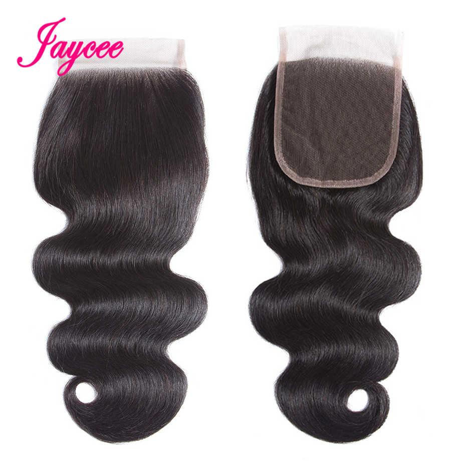 Бразильский пучки волос плетение с закрытия бразильского объемная волна Связки с закрытием не Реми Пряди человеческих волос для наращивания с закрытием