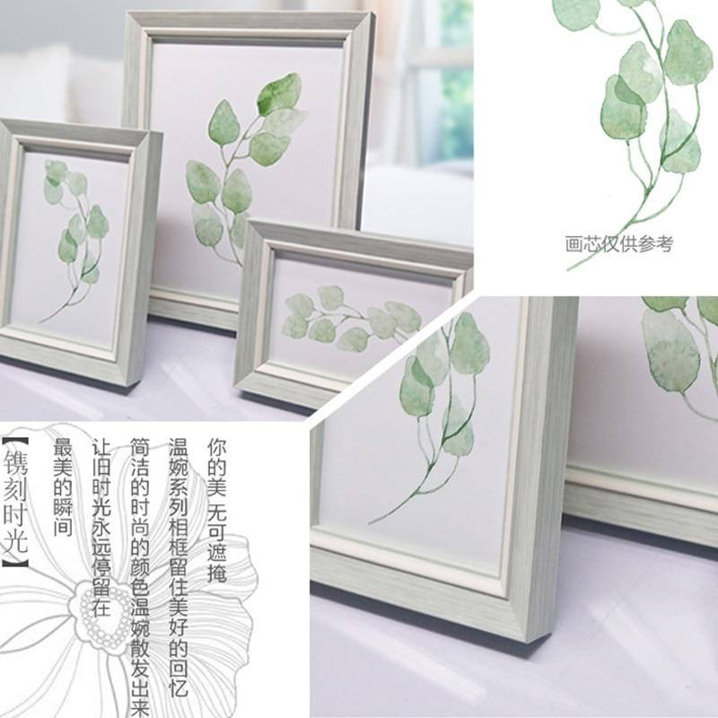 Resina marcos de fotos para la decoración de escritorio para foto ...