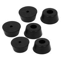 Szs hot furniture non slip tapered rubber feet washer 22mm x 10mm 12 pcs.jpg 200x200