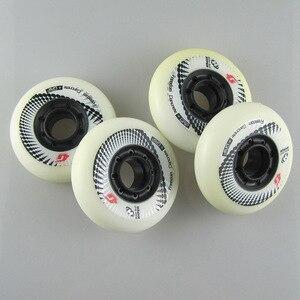 Image 5 - Ruedas originales Hyper Concrete +G para patines en línea, dispositivo de 80mm con rodamientos ILQ 11, dureza 84 A, ideales para patinaje de slalom SEBA, utilizables en hormigón, 8 unidades