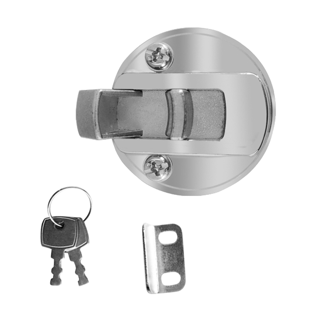 mount accessory 2? Flush Mount Hatch Flush Pull Latch Marine Key Door Locking Hardware Accessory For Boat Marine Yacht 2-12mm Thickness Door (2)