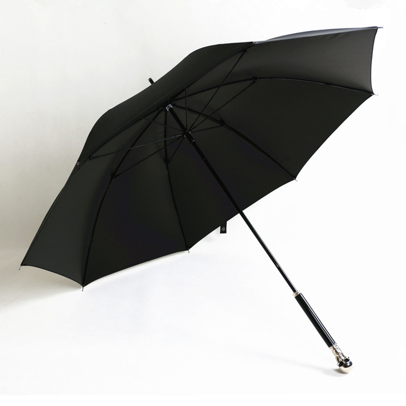 Paraguas a prueba de viento de fibra de vidrio con apertura a mano de 104cm surtido animal esqueleto del cráneo fantasma anti uv mini parasol|Paraguas| |  -