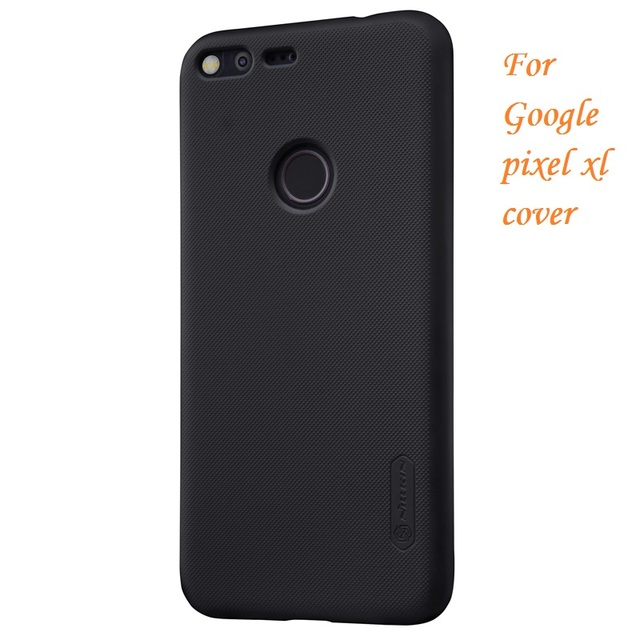 various colors 9f730 02e14 US $7.07 38% OFF|For google pixel xl cover 5.5''NILLKIN Frosted PC Plastic  back cover with Screen Protector For google pixel xl protective case on ...
