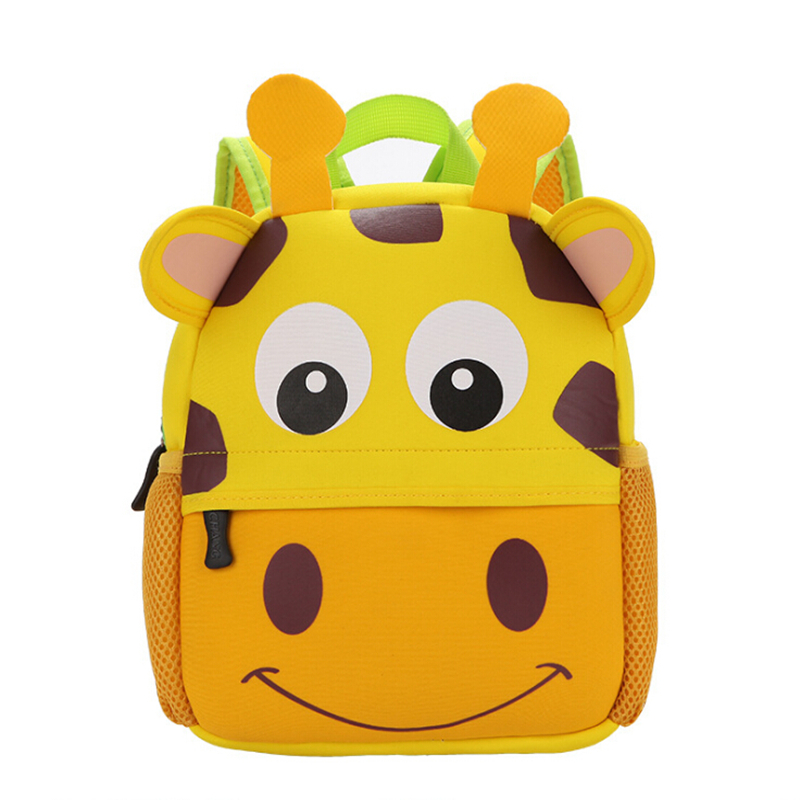 3D Cute Big Size Animal Design Backpacks Kids School Bags For Primary Girls Boys Cartoon Shaped Children School Backpacks hot sale girls boys cartoon children school bags cute drawstring masha