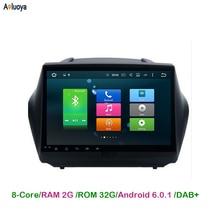 10.2 inch Android 6.0.1 Octa-Core Car Radio DVD GPS Player For Hyundai IX35 IX 35 2009-2015 Car Audio multimedia 4G WIFI DAB