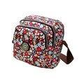 Mujeres de la manera Bolso impermeable Del Bolso de nylon Impermeable bolsa de mensajero bolso de las mujeres bolsos de patchwork