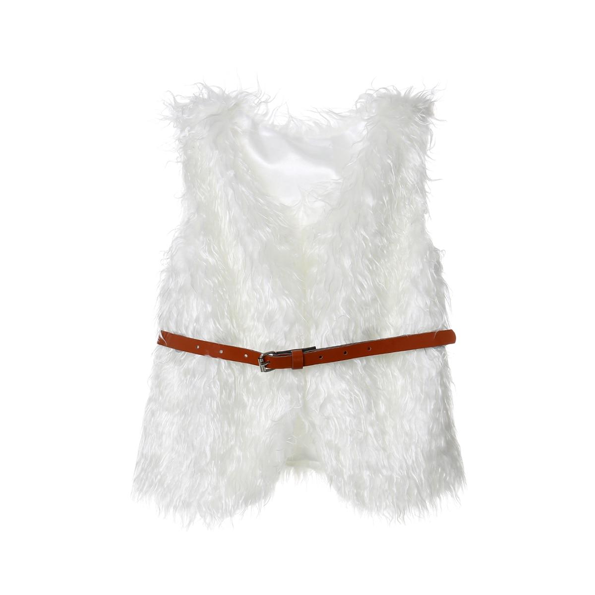 Fashion Newborn Kids Faux Fur Gilet Waistcoat Baby Girl Coat Jacket Warm Vest Outwear