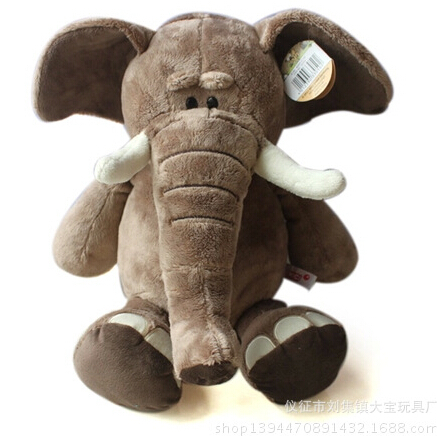 Genuine Nici Plush Toy Plush Elephant Stuffed Animal Soft Doll Popular Toy For Kids Anime Brinquedos stuffed animal jungle lion 80cm plush toy soft doll toy w56