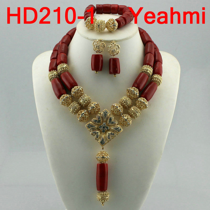 African Wedding Bridal Top Orange Coral Beads Jewelry sets Nigerian Women Beads Necklace Jewelry Sets Free Shipping HD210-2African Wedding Bridal Top Orange Coral Beads Jewelry sets Nigerian Women Beads Necklace Jewelry Sets Free Shipping HD210-2