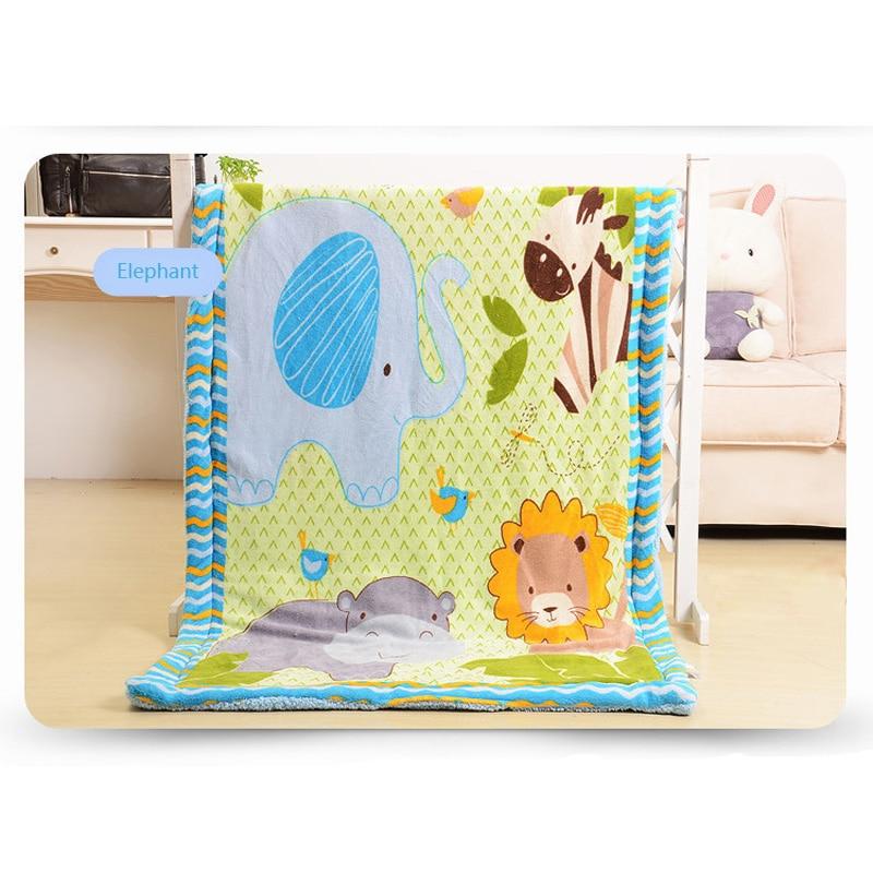 Super Soft Thicken Baby Flannel Blanket Baby Kids Toddler Bedding Linens Sleeping Cover enfant bebe mantas thicken soft knitted sleeping bag kids wrap mermaid blanket