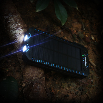 15000mAh Solar Power Bank with Cigarette Lighter  4