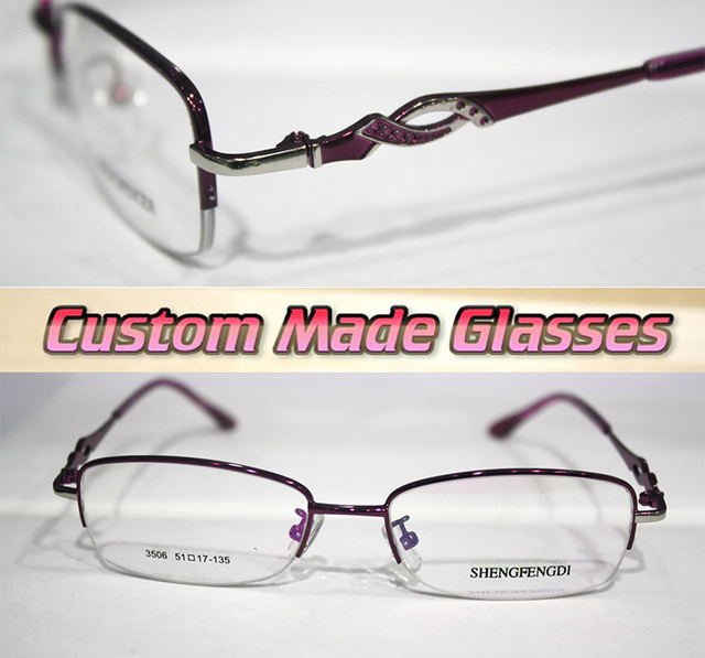 30b4fc5390 alloy frame Spiral decoration leg Optical Custom made optical lenses  Reading glasses +1 +1.5